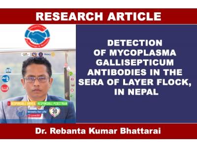 DETECTION OF MYCOPLASMA GALLISEPTICUM ANTIBODIES IN THE SERA OF LAYER FLOCK, NEPAL