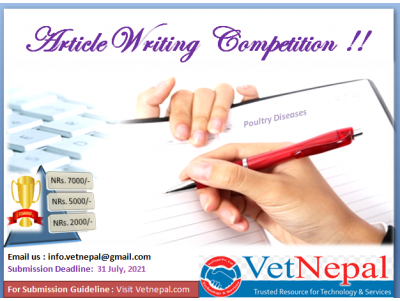 Call for Open Article Writing Competition!!
