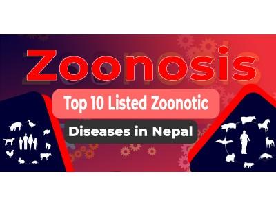 नेपाल सरकारको प्राथमिकतामा रहेका १० जुनोटिक रोगहरू